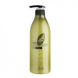 Flor de Man with Flowers Henna Hair Rinse - Ополаскиватель для волос с керамидами, 730 мл