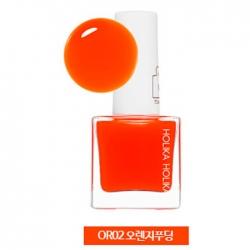 Holika Holika Piece Matching Nails - Tint - Лак для ногтей с интенсивной пигментацией, тон OR02, апельсиновый, 10 мл