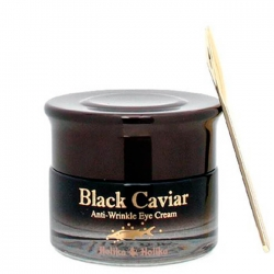 Holika Holika Black Caviar Antiwrinkle Eye Cream -  Питательный лифтинг крем для глаз, 30 мл