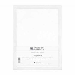 Janssen Dermafleece masks Collagen Pure - Коллагеновая маска (белая) 1 шт