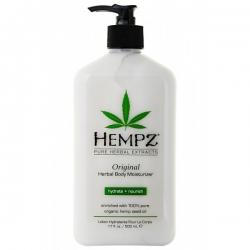 Hempz Original Herbal Moisturizer - Молочко для тела увлажняющее Оригинальное, 620 мл