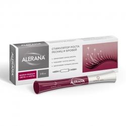 Alerana - Cтимулятор роста  ресниц и бровей, 2*6 мл . Общий объем: 18 мл