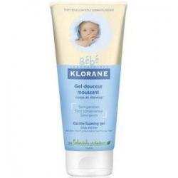 Klorane - Бэбэ гель для волос и тела мягкий пенящийся с экстрактом календулы 200 мл