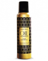Matrix Oil Wonders - Масло-блеск для укладки волос феном 185 мл
