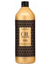 Matrix Oil Wonders - Легкий Шампунь с микро-каплями масла 1000 мл