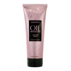 Matrix Oil Wonders Volume Rose - Кондиционер для увеличения объема тонких волос, 200 мл