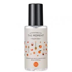 Holika Holika The Moment Perfume Body Mist Peach - Парфюмированный мист для тела Персик, 80 мл