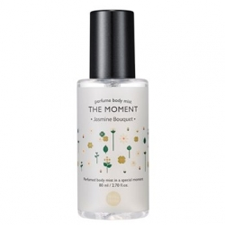 Holika Holika The Moment Perfume Body Mist Jasmine Bouquet - Парфюмированный мист для тела, жасмин, 80 мл