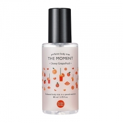 Holika Holika The Moment Perfume Body Mist Dewy Grapefruit - Парфюмированный мист для тела, грейпфрут, 80 мл