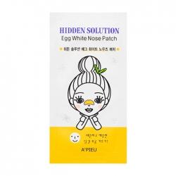 A'Pieu Hidden Solution Egg White Nose Patch - Патч для носа на основе яичного белка 23 мл