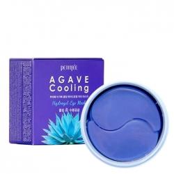 Petitfee Agave Cooling Hydrogel Eye Patch - Патчи для глаз гидрогелевые с экстрактом агавы 60 шт