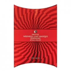 It's Skin Prestige Wrinkle Line Masque Ginseng D'escargot - Патчи для век и носогубных складок с экстрактом красного женьшения, 3 мл