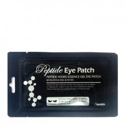 Anskin Peptide Hydro Essence Gel Eye Patch - Гидрогелевые патчи с пептидами для кожи вокруг глаз, 8гр