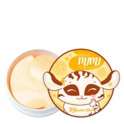 Secret Skin Gold Mimi Hydrogel Eye Patch - Патчи для век с частицами золота 60шт
