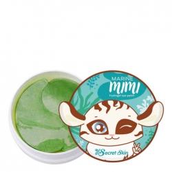 Secret Skin Marine Mimi Hydrogel Eye Patch - Патчи для век с экстрактом морских водорослей 60шт
