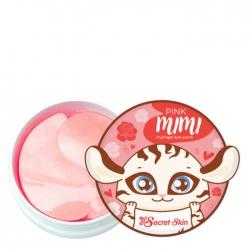 Secret Skin Pink Mimi Hydrogel Eye Patch - Патчи для век с экстрактом дамасской розы 60шт