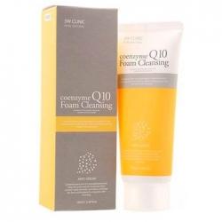 3W Clinic Coenzyme Q10 Foam Cleansing - Пенка для умывания КОЭНЗИМ Q10, 100 мл