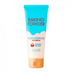 Etude House Baking Powder BB Deep Cleansing Foam - Пенка для умывания с содой 160 мл