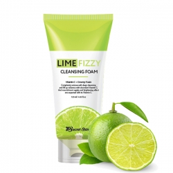 Secret Skin Lime Fizzy Cleansing Foam - Пенка для умывания с экстрактом лайма 120мл