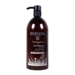 Egomania Professional Conditioner Nut Shea Butter For Extra Thick & Curly Hair - Кондиционер с маслом ши для густых, вьющихся волос 1000 мл