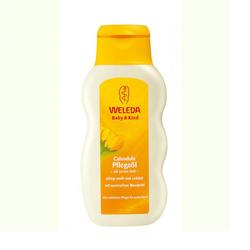 Weleda - Масло с календулой для младенцев с нежным ароматом 200 мл