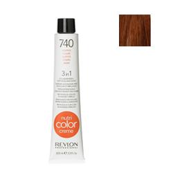 Revlon Professional Nutri Color Creme - Краска для волос NСС 740, 100 мл