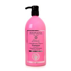 Egomania Professional Shampoo Ginseng & Cocoa Butter For Normal & Dry Hair - Шампунь с женьшенем и маслом какао для нормальных и сухих волос 1000 мл