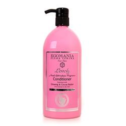 Egomania Professional Conditioner Ginseng & Cocoa Butter For Normal Hair - Кондиционер с женьшенем и маслом какао для нормальных и сухих волос 1000 мл