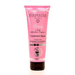 Egomania Professional Treatment Mask Ginseng & Cocoa Butter For Normal Hair - Маска с женьшенем и маслом какао для нормальных и сухих волос 250 мл