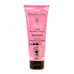 Egomania Professional Shampoo Ginseng & Cocoa Butter For Normal & Dry Hair - Шампунь с женьшенем и маслом какао для нормальных и сухих волос 250 мл