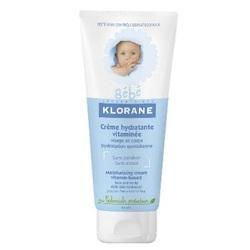 Klorane - Бэбэ крем увлажняющий с витаминами и экстрактом календулы 200 мл
