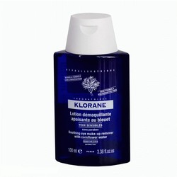 Klorane - Лосьон для снятия макияжа с глаз с экстрактом василька 100