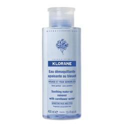 Klorane - Очищающая вода для лица и глаз с экстрактом василька 400 мл