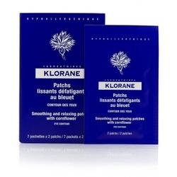 Klorane - Успокаивающая Маска-компресс для контура глаз саше