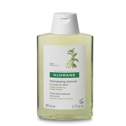 Klorane - Шампунь с мякотью цитрона тонизирующий для блеска волос 200 мл