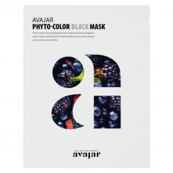Avajar Phyto-Color Black Mask - Маска для жирной кожи с расширенными порами 1 шт