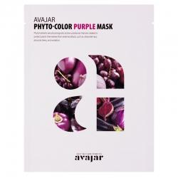 Avajar Phyto-Color Purple Mask - Маска очищающая для лица 1 шт