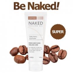 A'Pieu Naked Peeling Gel Coffee - Освежающий пилинг гель с экстрактом кофе 100мл