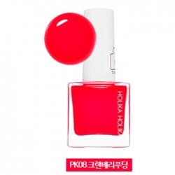 Holika Holika Piece Matching Nails - Tint - Лак для ногтей с интенсивной пигментацией, тон PK08, клюквенный, 10 мл