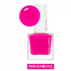 Holika Holika Piece Matching Nails - Tint - Лак для ногтей с интенсивной пигментацией, тон PK09, малиновый, 10 мл