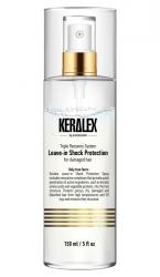 Keralex Leave-in Shock Protection - Спрей двухфазный кондиционирующий дуо-питание и термозащита 150 мл
