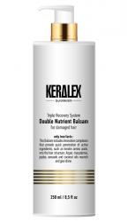 Keralex Double Nutrient Balsam - Бальзам высокоинтенсивный дуо-питание 250 мл