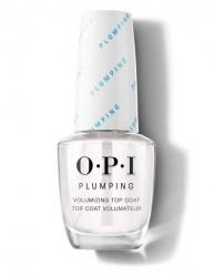 OPI Plumping Top Coat - Верхнее покрытие для придания объема маникюру, 15 мл