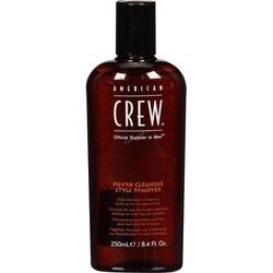 American Crew Power Cleanser Style Remover - Шампунь для ежедневного ухода, очищающий волосы от укладочных средств, 1000 мл