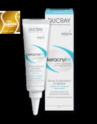 Ducray Keracnyl PP - Керакнил ПП успокаивающий крем против дефектов кожи, склонной к акне, 30 мл