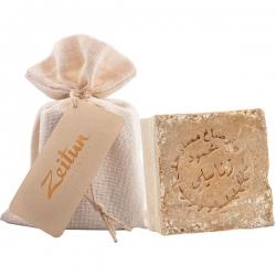 """Zeitun - Алеппское оливково-лавровое мыло премиум """"Традиционное"""", 200г"""