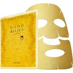 Holika Holika Prime Youth Gold Caviar Gold Foil Mask - Антивозрастная тканевая маска с золотом, 25 мл