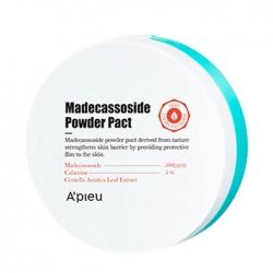 A'pieu Madecassoside Powder Pact - Пудра для лица Противовоспалительная матирующая, 6 мл