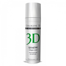 Medical Collagene 3D Q10-Active - Коллагеновая гель-маска для сухой кожи, 130 мл