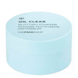 The Face Shop Oil Clear Blotting Powder -  Рассыпчатая пудра для жирной кожи, 6 г